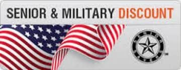 Senior Citizen & Military Discount