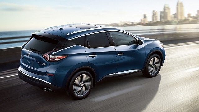 Nissan Murano Driving Acorss Bridge