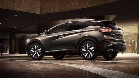 New 2019 Nissan Murano Side View