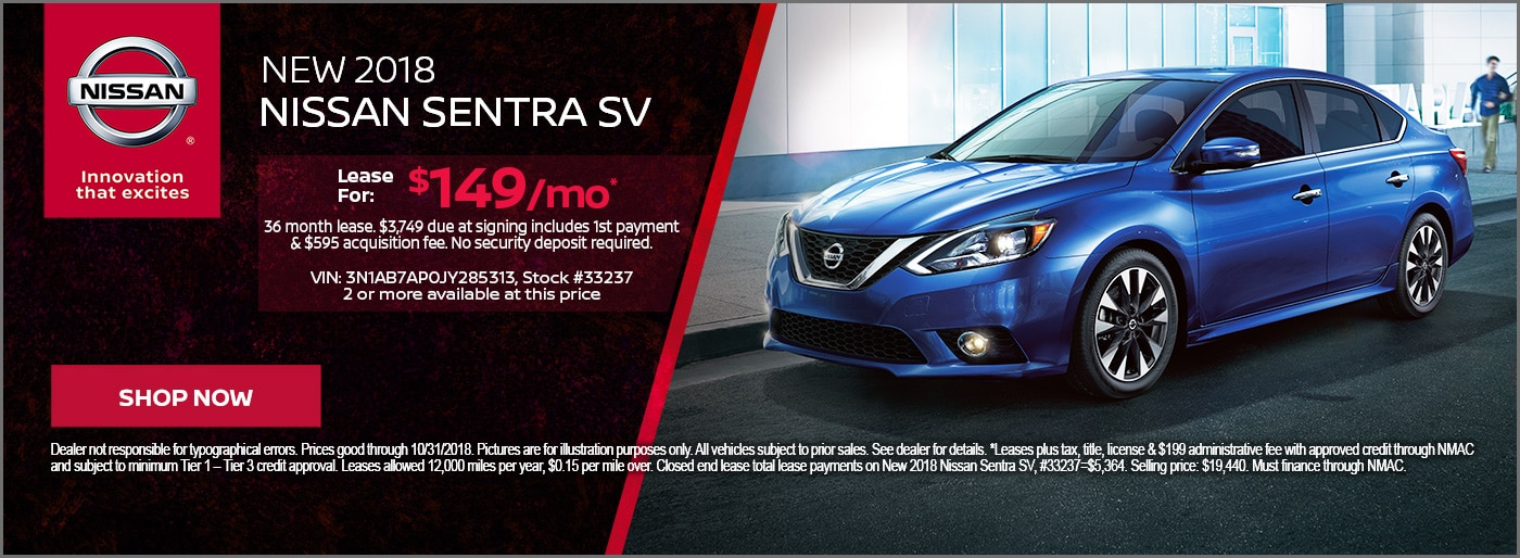 Shop Now Save BIG On A New St Louis Nissan Sentra For Sale Near You