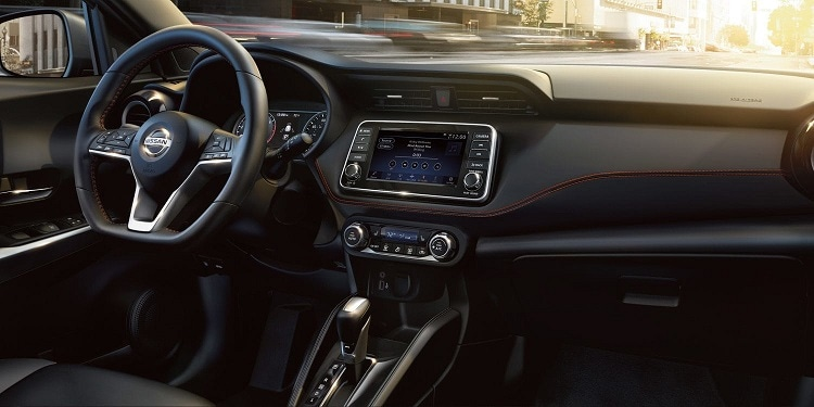 2019 New Nissan Kicks Interior