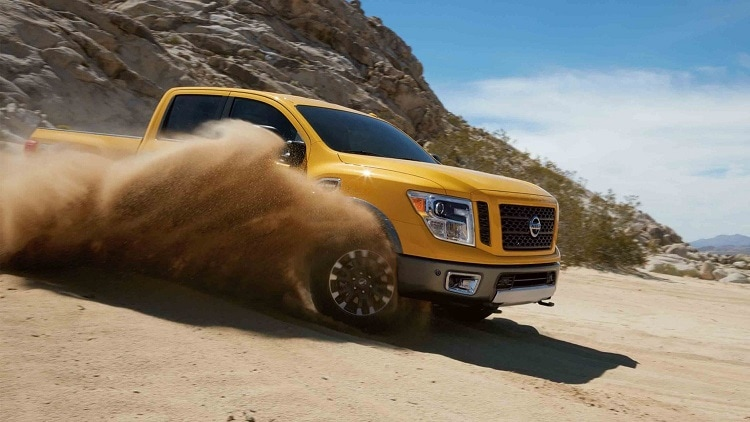 New Nissan Titan XD Towing Capacity