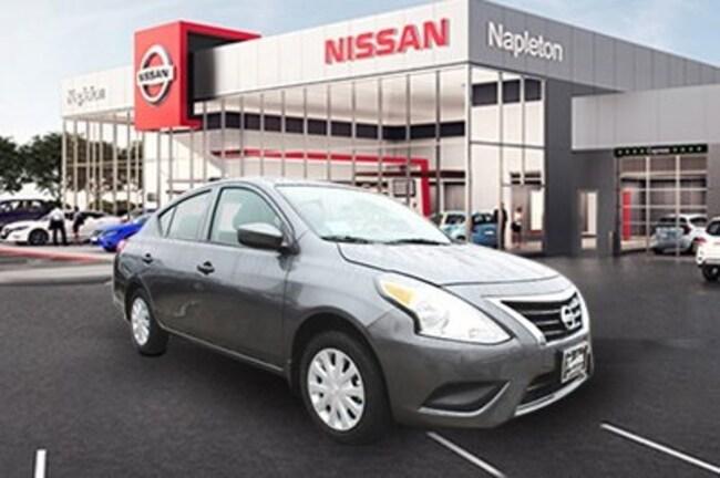 2019 Nissan Versa 1.6 S Sedan