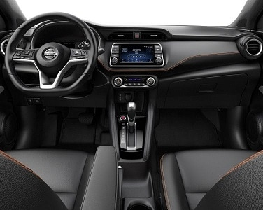 New Nissan Kicks Interior Features