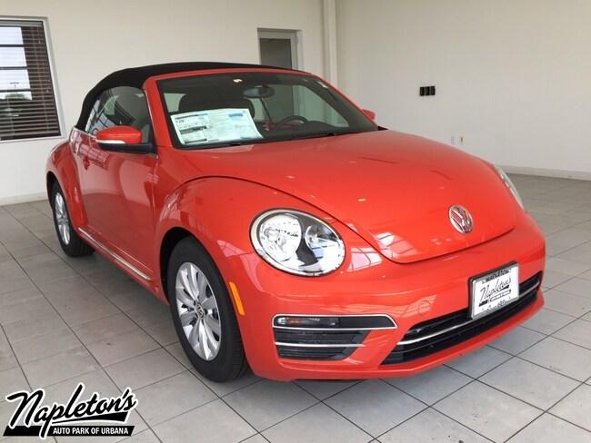 2019 Volkswagen Beetle 2.0T S Convertible in Champaign-Urbana