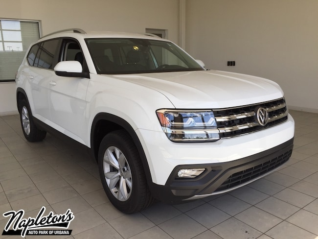 2019 Volkswagen Atlas 3.6L V6 SE w/Technology 4MOTION SUV in Champaign-Urbana