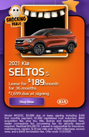 2021 Kia Seltos - October Offer