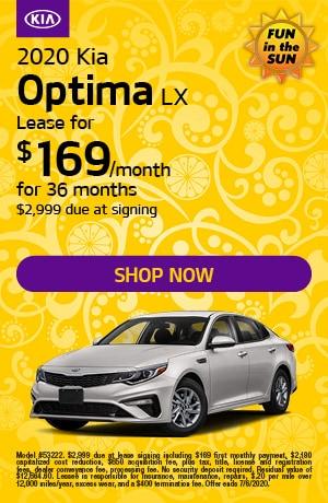 2020 Kia Optima - June Offer