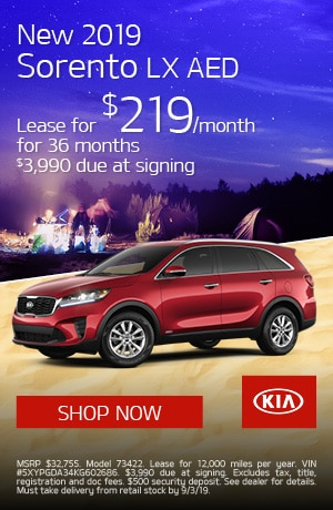 New Vehicle Specials | Napoli Kia