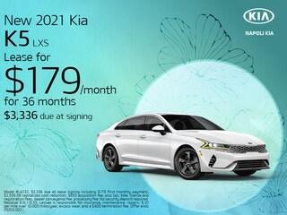 New 2021 Kia K5 LXS