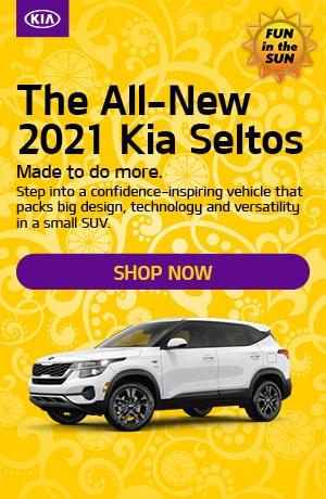 2021 Kia Seltos - June Offer
