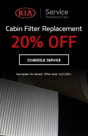 Cabin Filter Replacement- January Offer