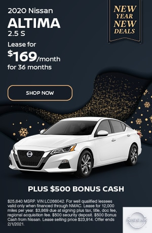 2020 Nissan Altima - January Offer