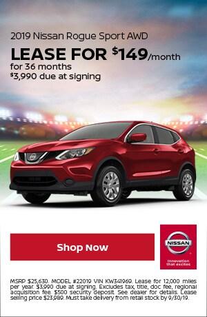 2019 Nissan Rogue Sport - September Offer