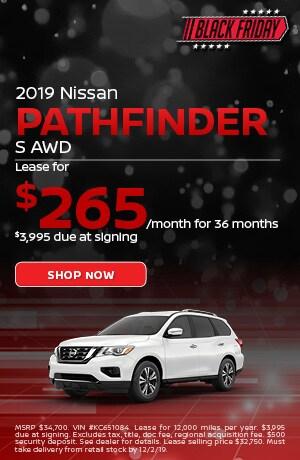 2019 Nissan Pathfinder - November Offer