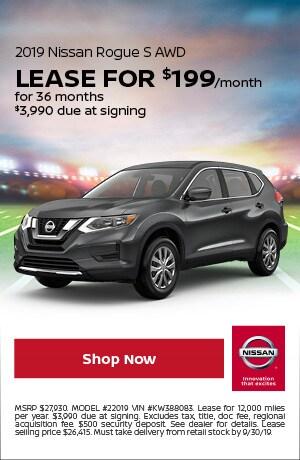 2019 Nissan Rogue - September Offer