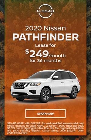 2020 Nissan Pathfinder - November Offer