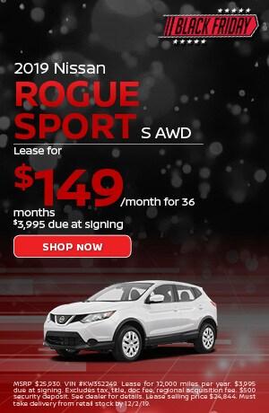 2019 Nissan Rogue Sport - November Offer