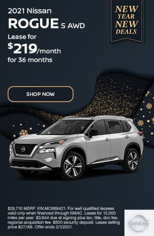 2021 Nissan Rogue - January Offer
