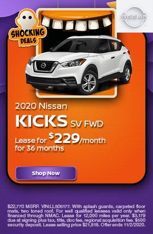 2020 Nissan Kicks - October Offer