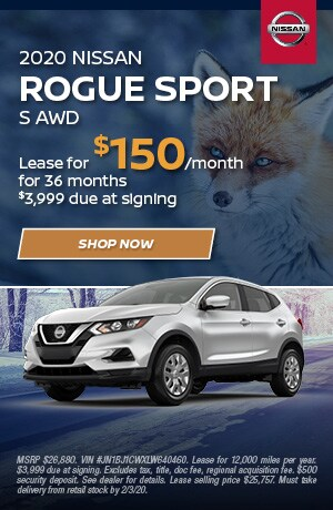 2020 Nissan Rogue Sport - January Offer