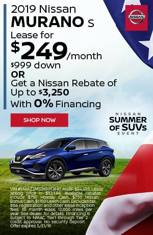 2019 Nissan Murano - May