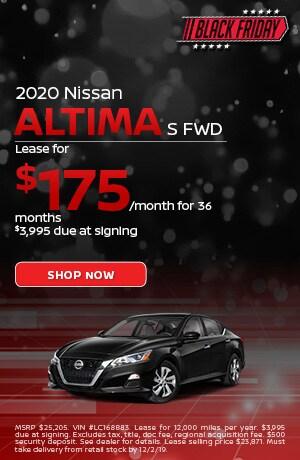 2020 Nissan Altima - November Offer