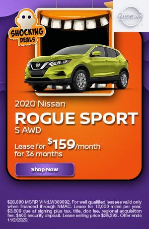 2020 Nissan Rogue Sport - October Offer