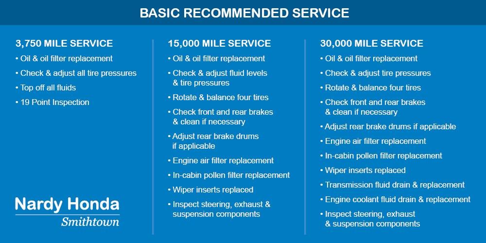 Honda Maintenance & Service at Nardy Honda Smithtown