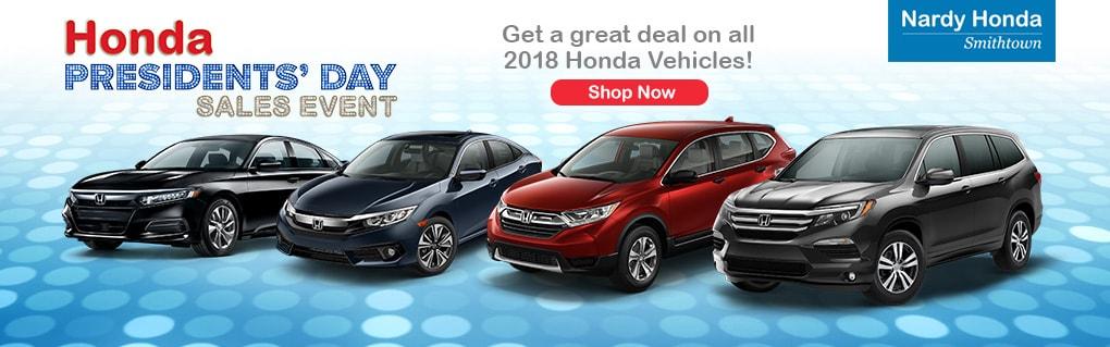 New Honda Specials At Nardy Honda Smithtown Honda Dealer