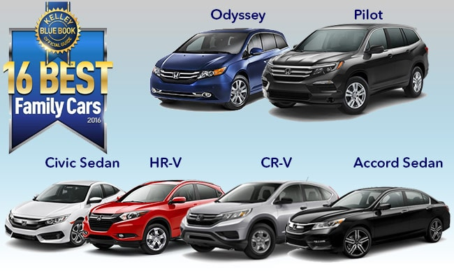 Nardy Honda Smithtown Honda Sweeps KBBcoms Best Family Cars - Best honda cars 2016