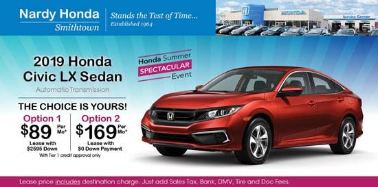 Honda Finance Specials >> New Honda Specials At Nardy Honda Smithtown Honda Dealer