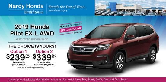 Honda Pilot Lease >> New Honda Specials At Nardy Honda Smithtown Honda Dealer