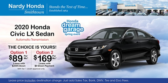Find Honda Civic Specials Lease Deals Nardy Honda Smithtown