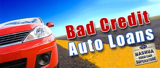 Auto Loans For Bad Credit >> Nashua Used Car Superstore Apply For Bad Credit Auto Loans