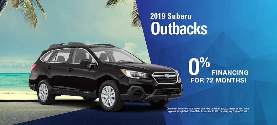 2019 Subaru Outbacks
