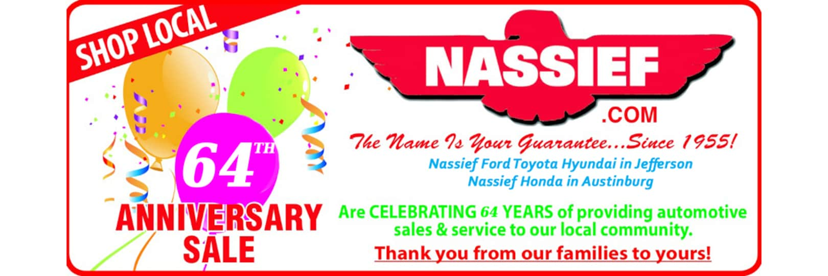 Nassief Auto Group Ford Inc  | Ford Dealership in Jefferson OH