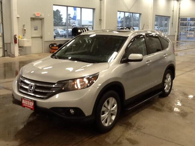 Used 2012 Honda CR-V EXL NAVI SUV for Sale in Austinburg OH