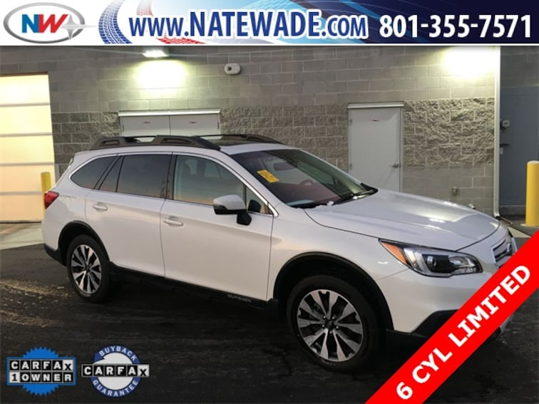 certified pre-owned 2017 Subaru Outback 3.6R Limited SUV for sale in Salt Lake City UT