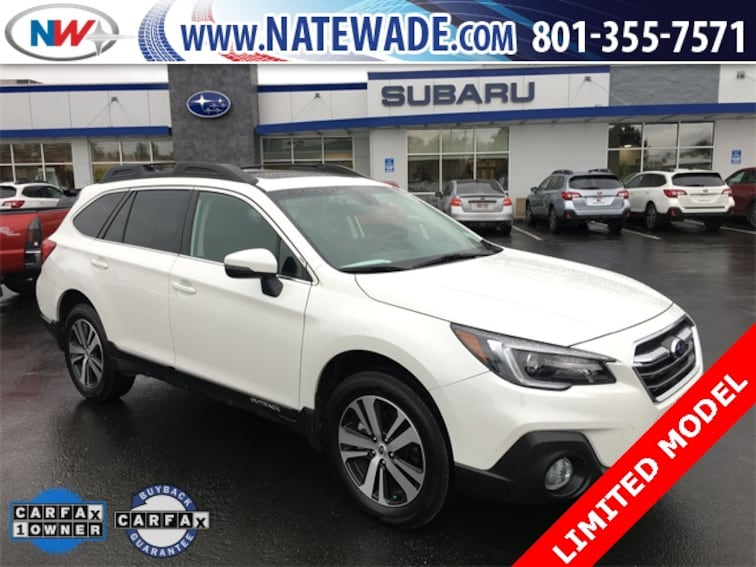 certified pre-owned 2019 Subaru Outback 2.5i Limited SUV for sale in Salt Lake City UT