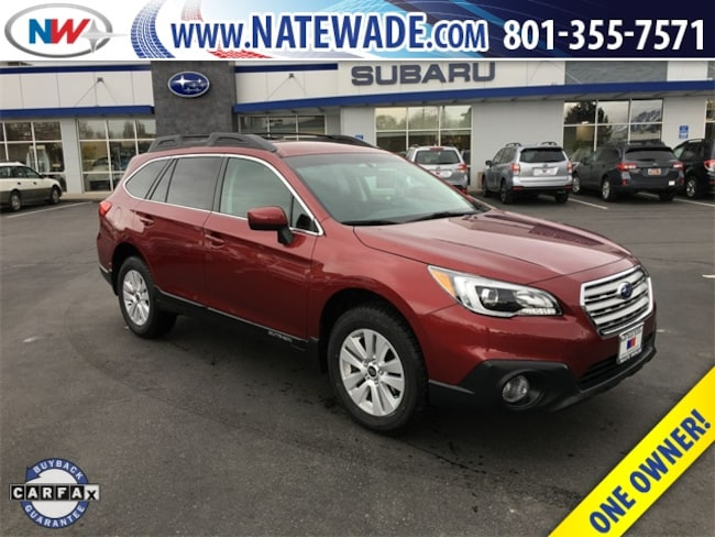 certified pre-owned 2017 Subaru Outback 2.5i Premium SUV for sale in Salt Lake City UT