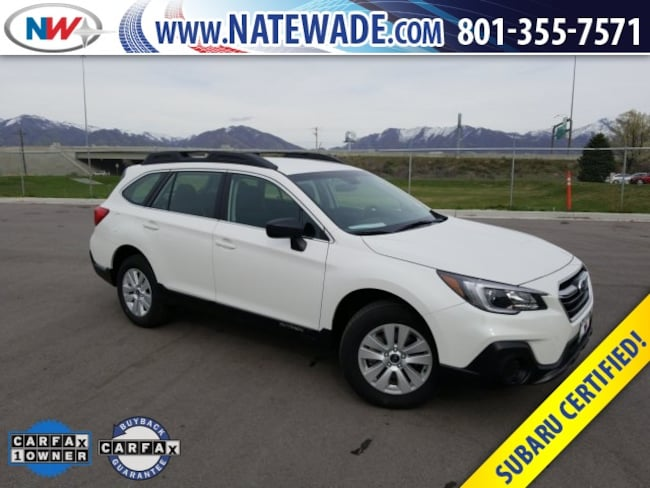 certified pre-owned 2019 Subaru Outback 2.5i SUV for sale in Salt Lake City UT