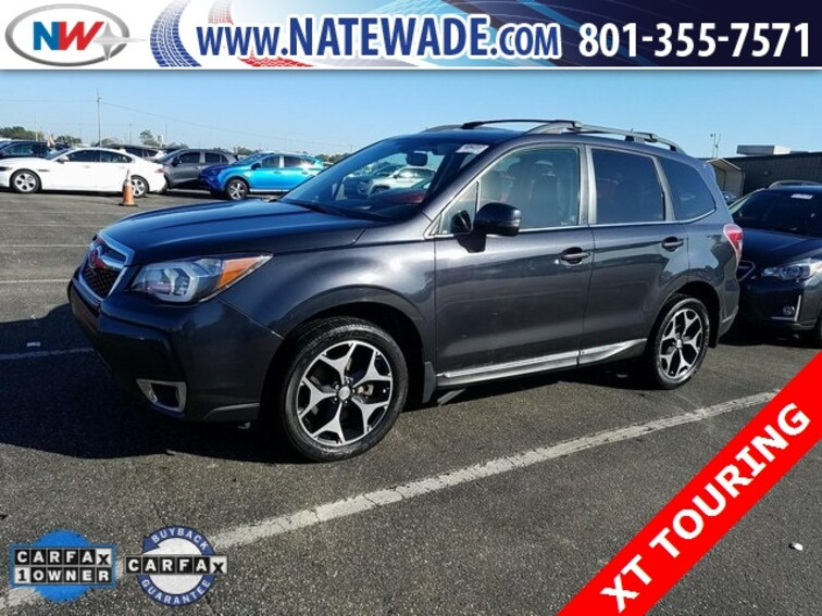 certified pre-owned 2015 Subaru Forester 2.0XT Touring SUV for sale in Salt Lake City UT
