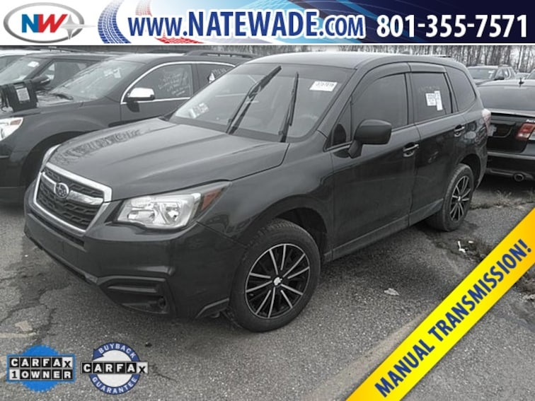 Certified Pre Owned Used 2018 Subaru Forester For Sale Salt Lake