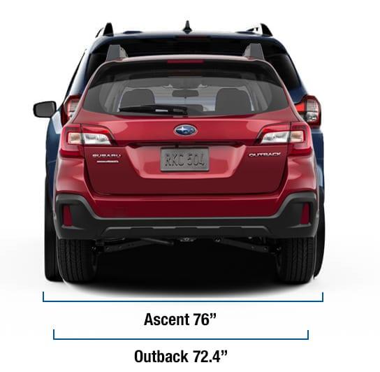 2019 Subaru Ascent Comparisons