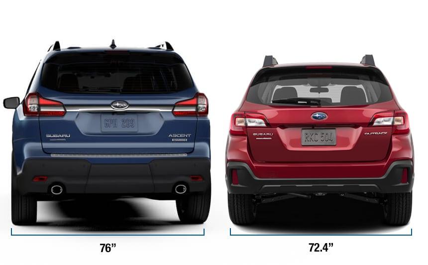 Subaru Salt Lake City >> 2019 Subaru Ascent Comparisons | Full-Size SUV Versus ...