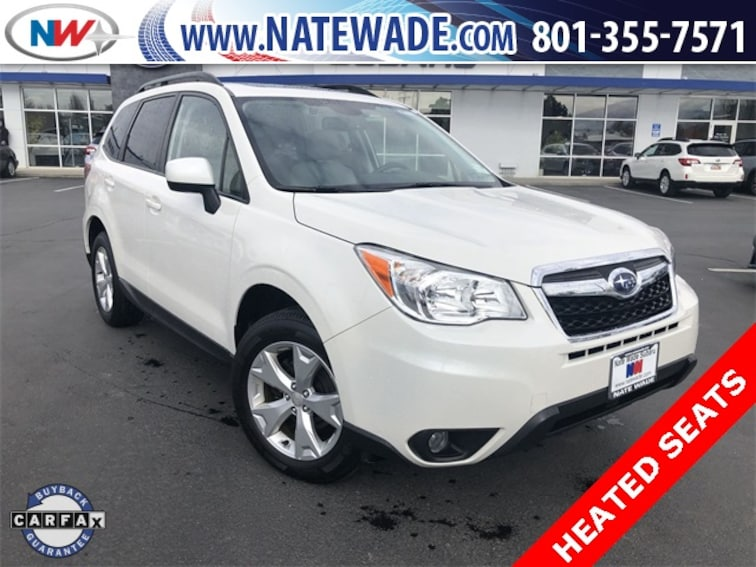 certified pre-owned 2016 Subaru Forester 2.5i Premium SUV for sale in Salt Lake City UT