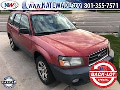 Bargain Used 2004 Subaru Forester 2.5X SUV under $10,000 for Sale in Salt Lake City