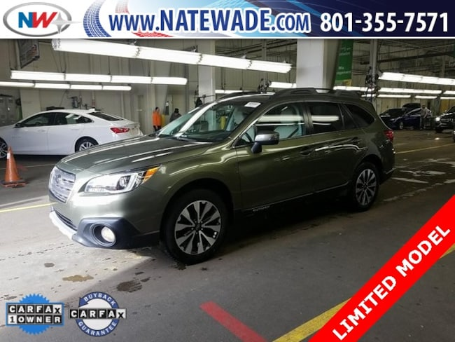 used 2016 Subaru Outback 2.5i Limited SUV for sale in salt lake city
