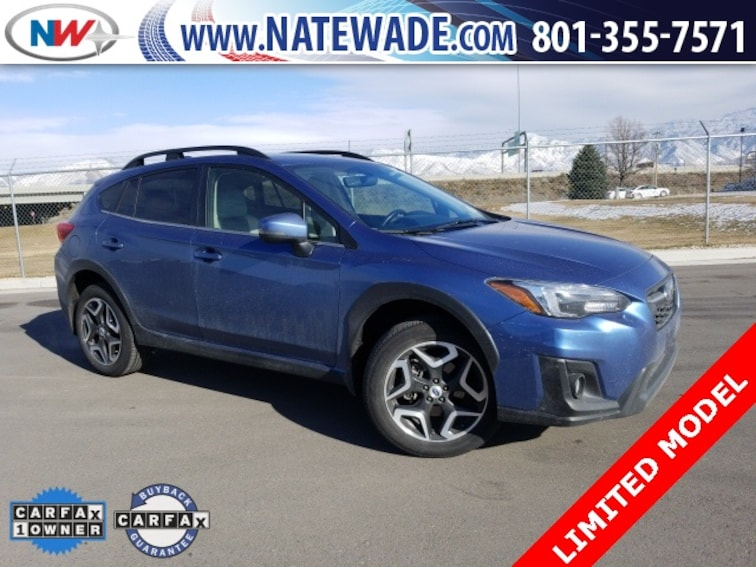 certified pre-owned 2018 Subaru Crosstrek 2.0i Limited SUV for sale in Salt Lake City UT